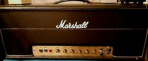 Vintage Marshall JMP 50 Watt 1987 Lead Guitar Amplifier Amp Head - March 1974
