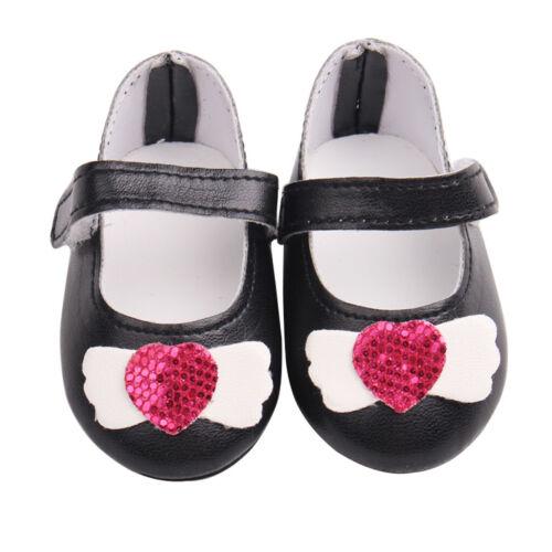 1 Paar Puppen Schuhe Puppenzubehör für 18 Zoll AG American Doll Puppen