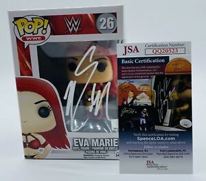 Eva Marie Signed Autographed WWE Funko POP with Inscription JSA COA
