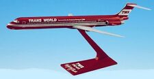 Flight Miniatures TWA MD-80 Wings Of Pride Desk Top Display 1/200 Model Airplane