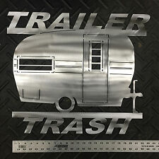 "Vintage Camper ""Trailer Trash"" Wall Art"