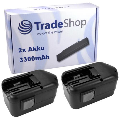 2x Batterie 18v 3300mah pour AEG bsb18stx pn18x sb2e18stx sb2e18t-super torque