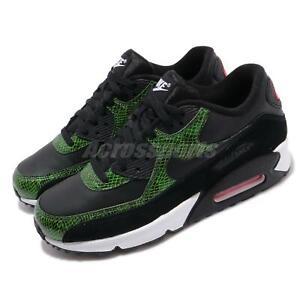 Nike-Air-Max-90-QS-Green-Python-Black-SnakeSkin-Mens-Running-Shoes-CD0916-001
