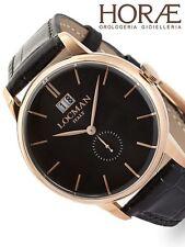 Orologio uomo Locman collezione 1960 0252V09-RGBKRGPK pelle nero PVD oro rosa