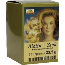 BIOTIN PLUS Zink Haarkapseln 50 St