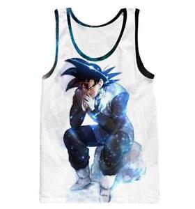 Cosplay-Dragonball-Z-Anime-Tank-Top-Shirt-Tanktop-Muskelshirt-Unterhemd-Neu