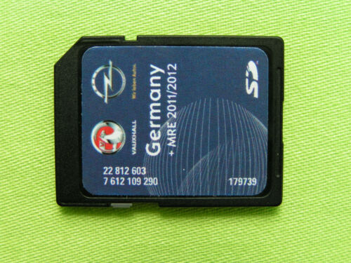 SD CARD NAVIGATION OPEL NAVI 600 DEUTSCHLAND EU 2012 MOKKA CASCADA INSIGNIA