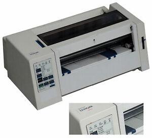 A4 dot Matrix Printer Lexmark 2380 Plus Parallel Windows 7 As Oki ML 3320