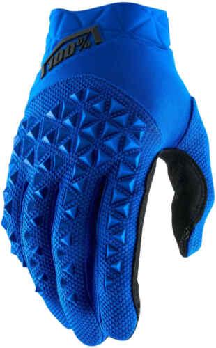 100/% Airmatic Bike Gloves Blue//Black 2019