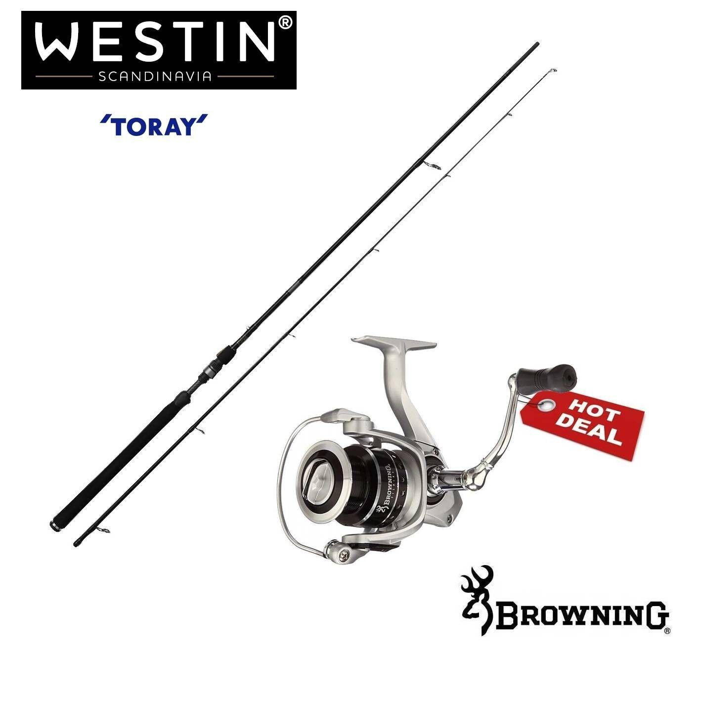 Westin W3 Powershad 2,70m 15-40g + Browning BSX 1000