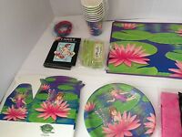 Fairy Birthday Party Kit For 8 Plates Cups Napkins Table Cover Favors More Look
