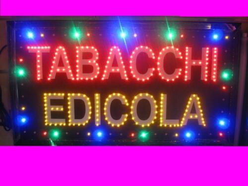 INSEGNA A LED CON SCRITTO TABACCHI EDICOLA  65x35