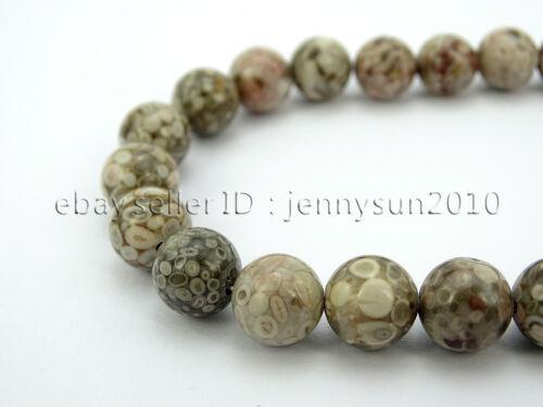 """Jaspe piedras preciosas naturales de medicina de piedra redonda granos de 15/"""" 4mm 6mm 8mm 10mm"""