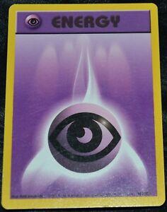 Condition Near Mint NM Pokemon Base Set COMMON Psychic Energy 101//102
