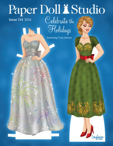 Paper Doll Studio Magazine Issue #114 CELEBRATE THE HOLIDAYS from 2016