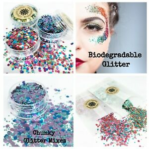 Biodegradable-Glitter-Cosmetic-Eco-Chunky-mix-Festival-Party-make-up-Body