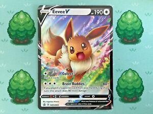 Pokemon SWSH Black Star Promo Eevee V SWSH065