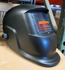 Black Solar Auto Darkening Weldinggrinding Helmet Certified Hood Mask
