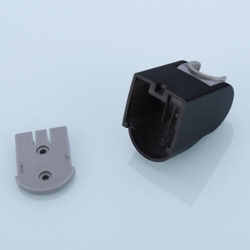 2Pcs//lot  Black Plated  ABS Adjustable Shower Holder Hand Shower Holder Bracket
