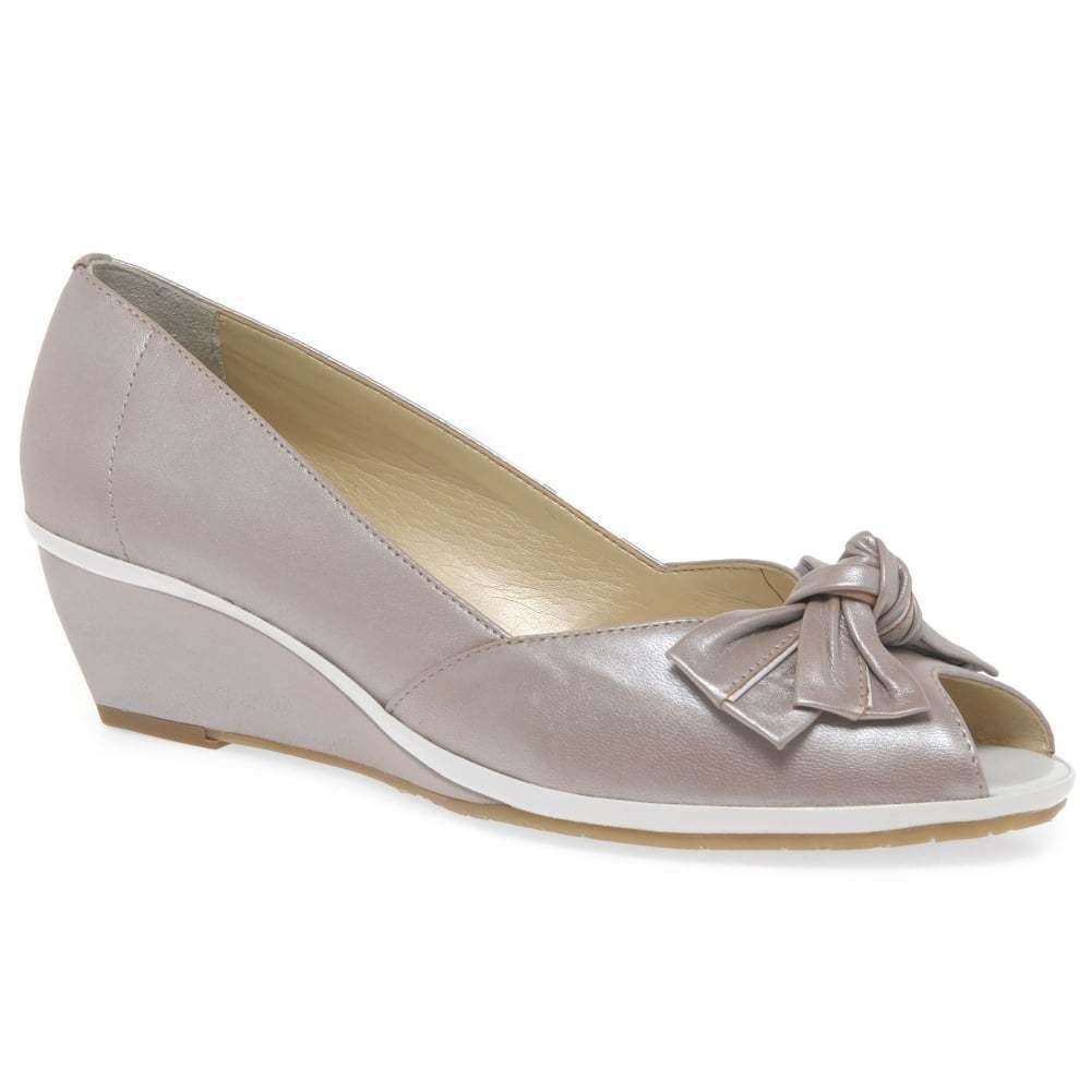 VAN DAL Florida II Bout ouvert Calé chaussures Nougat UK 8 EU42 wide fit LN15 44 sales