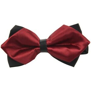 Homme-Noeud-Papillon-Cravate-Reglable-Classique-Noeud-Papillon-Pour-Mariage-J2Y6