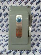 Ite Jn323 100 Amp 240 Volt 2p3w Fusible Vintage Disconnect