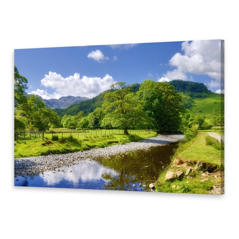 Leinwand-Bilder Wandbild Druck auf Canvas Kunstdruck Fluss England