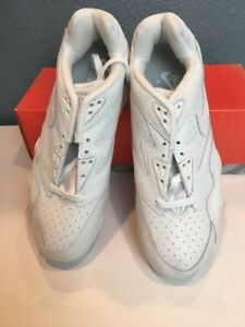 011d8a8dd Nike air cross trainers low IV mens 10.5 white leather shoes ...