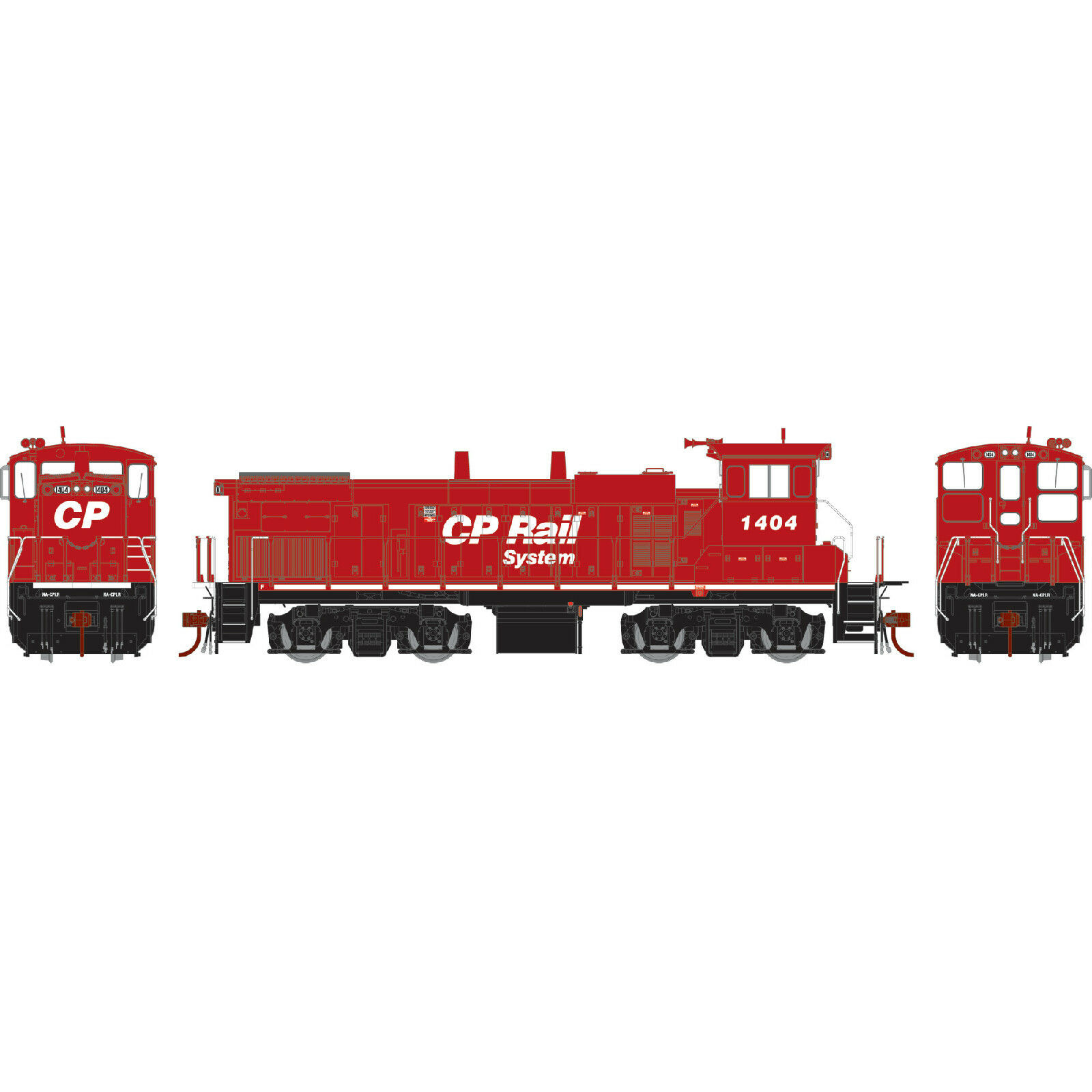 GENESIS CANADIAN PACIFIC Road  1404 MP15AC Item  ATHG66131 HO Scale