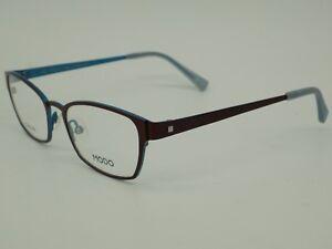 084f7e22656 Brown Square Horn Rim Rx Prescription Eye Glasses Frames Eyeglasses ...