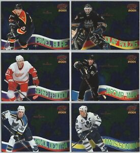 2000-01 PACIFIC EURO-STARS INSERT CARDS - PICK SINGLES - FINISH YOUR SET Rare BV