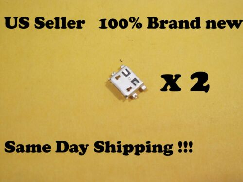 2 X XGODY X200 USB Charger Charging Port Dock Connector Replacement Part H8