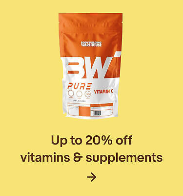 Up to 20% off vitamins & supplements