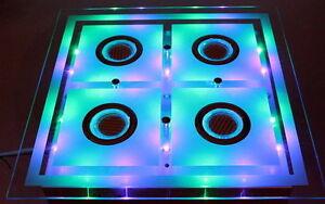 led deckenleuchte leuchte decken lampe farbwechsel color mit fernbedienung neu ebay. Black Bedroom Furniture Sets. Home Design Ideas