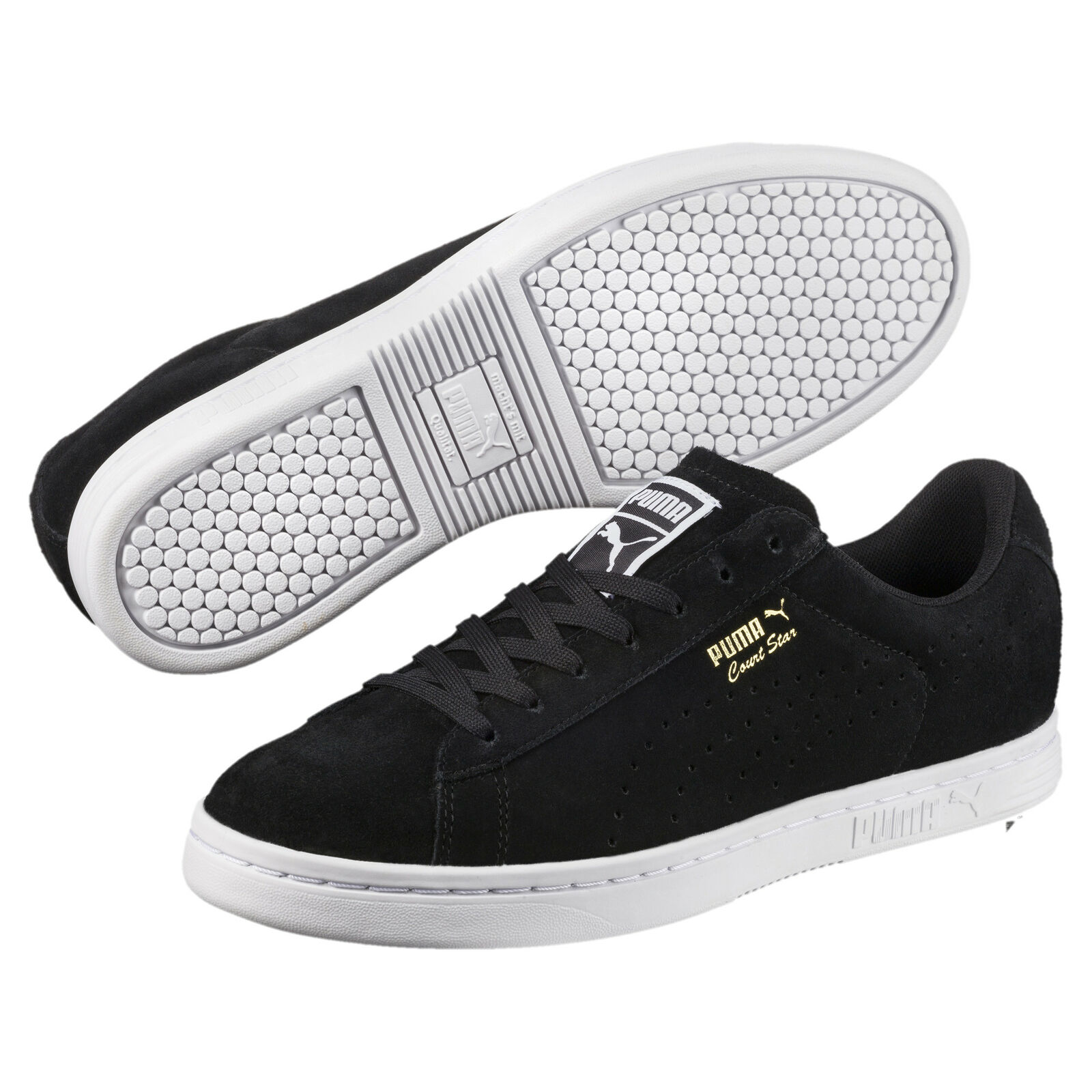 PUMA Unisex Court Star Suede Sneakers