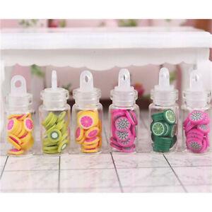 1-12-Dollhouse-Miniature-Fruit-Slices-Glass-Bottle-Storage-Jar-Accessories-T-Ws
