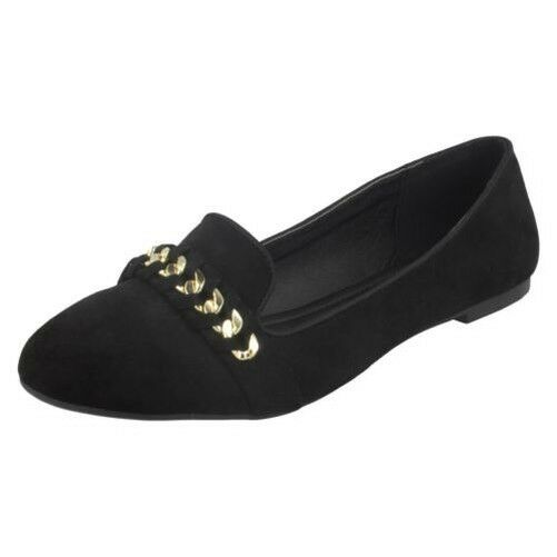Gentleman/Lady Spot On Ladies Chain Price Vamp Ballerinas Reliable quality Price Chain reduction Cheap order 791f7f