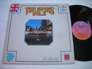 History-of-the-Kinks-Volume-2-1976-Stereo-LP-VG