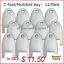 Kimberly-Clark-770101-key-for-C-Fold-Mutifold-Hand-Towel-Dispensers-12-pk thumbnail 1
