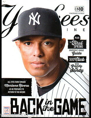 Yankees Magazine Spring 2013 v.34-1 Derek Jeter Mariano Rivera Mark Teixeira