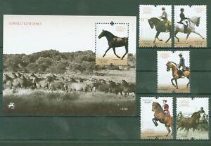 Portugal-2009-Lusitano-Pferde-Dressur-Gespann-Horses-3421-25-Bl-284