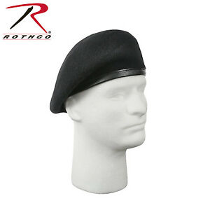 Rothco 4949 G.I. Type Inspection Ready Beret - Black