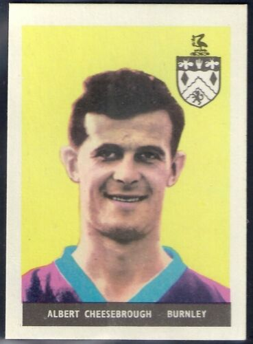 01-46 1958-#22- BURNLEY A/&BC-FOOTBALL WITHOUT PLANET ALBERT CHEESEBROUGH