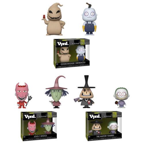 Figures 2-Packs Nightmare Before Christmas S2 SET OF 3 New Funko Vynl