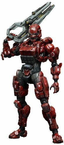 SquareEnix Halo 4 Spartan Solider Play Arts Kai azione cifra, rosso