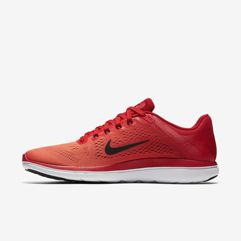Nike Flex 2016 Para Hombre Zapato runinng correr Carmesí Negro 830369-601 Talla 11