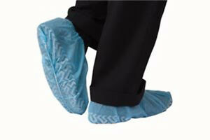 Blue Booties Shoe Covers