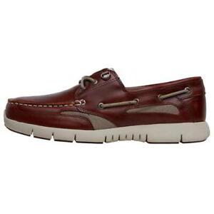 official shop outlet sale big clearance sale Details about Sebago Clovehitch Lite Mens Wide Brown Leather Boat Deck  Shoes Size 7-12.5