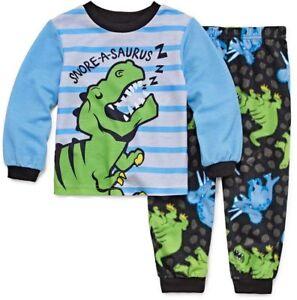 Snore-a-saurus Dinosaur Pajamas 2-Piece Sleepwear Set Toddler Boy ... 4d7ff74a5