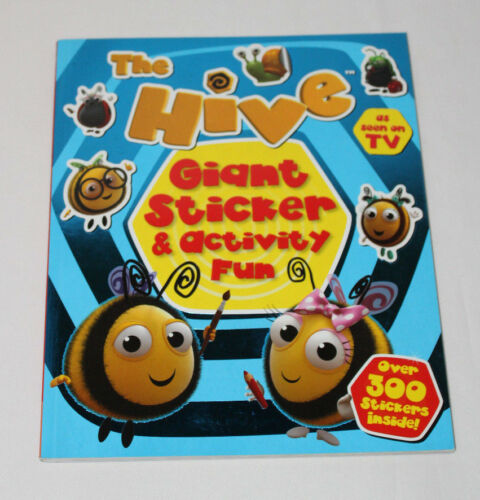 1 of 1 - HIVE GIANT STICKER ACTIVITY FUN BOOK CHILDRENS HOLIDAY GIFT OVER 300 STICKERS
